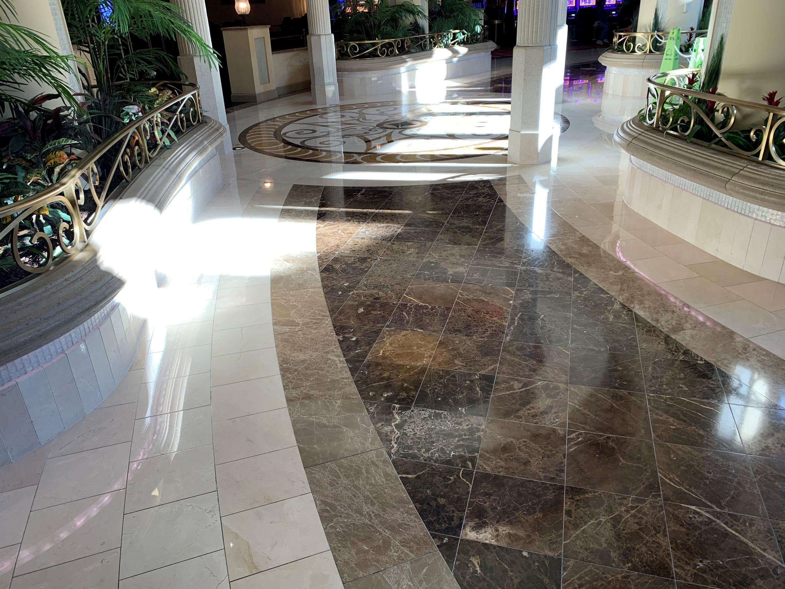 Stone floor and VCT Tile Care