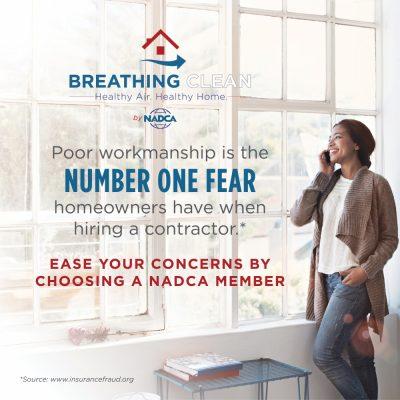 NADCA - October - Indoor Air Quality Awareness Month