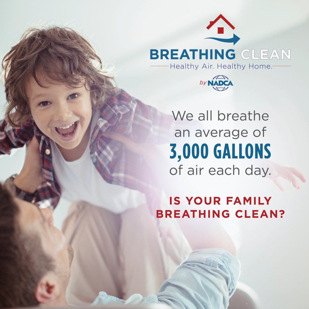 We Breathe an Average of 3000 gallons of air a day!